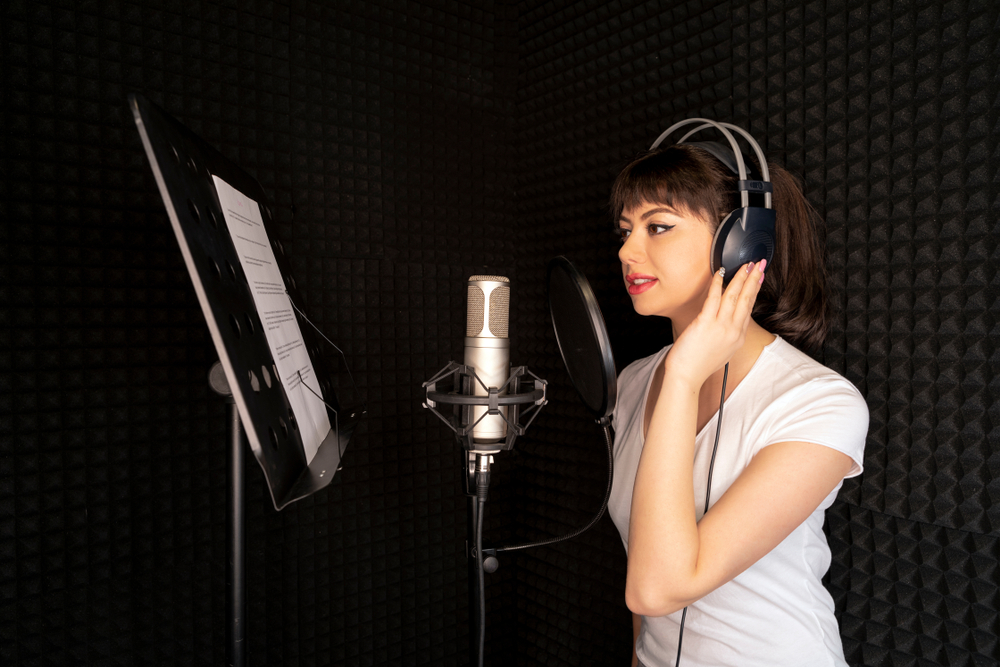 Professional Voice Over Actor Professional Female Voice Talent